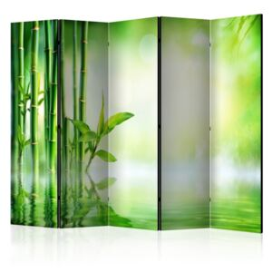 Paravento - Green Bamboo II [Room Dividers]