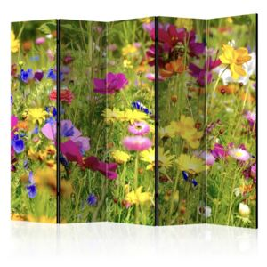 Paravento - Summer Flowers II [Room Dividers]