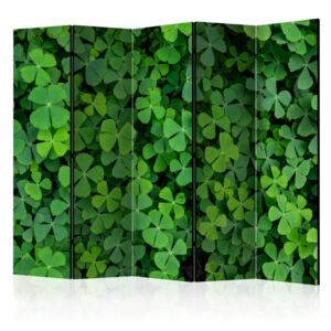 Paravento - Green Clover II [Room Dividers]