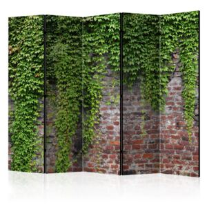 Paravento - Brick and ivy II [Room Dividers]