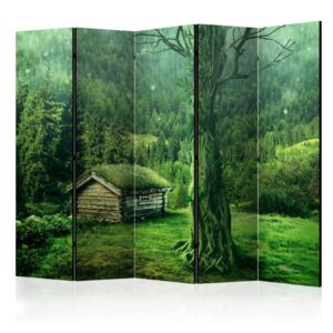 Paravento - Green seclusion II [Room Dividers]