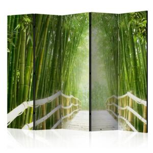 Paravento - Magical world of green II [Room Dividers]