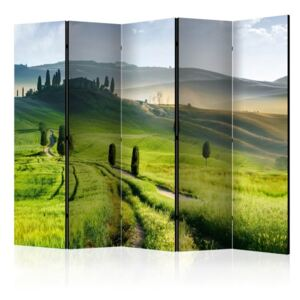 Paravento - Morning in the countryside II [Room Dividers]