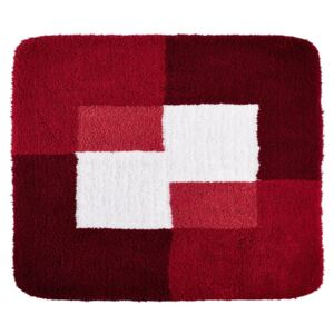RIDDER Tappetino per Bagno Coins 55x50 cm Rosso 7103806