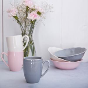 Tazza Diana Rustic 30 cl Grey AMBITION
