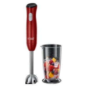Russell Hobbs Frullatore a Immersione a Mano Desire Rosso 500 W