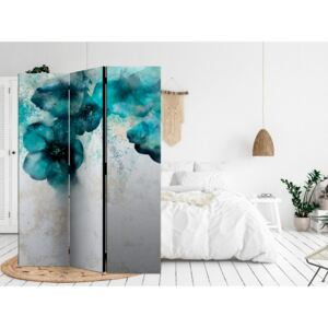 Paravento design Blue Poppies [Room Dividers]