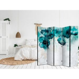 Paravento Blue Poppies II [Room Dividers]
