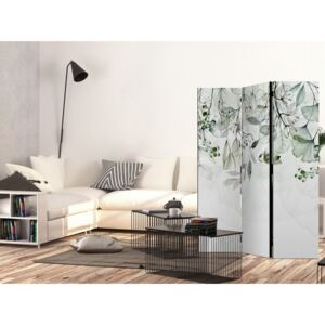 Paravento design Foggy Nature - Green [Room Dividers]