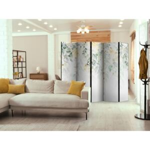 Paravento design Waterfall of Roses - Second Variant II [Room Dividers]