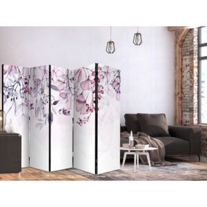Paravento Foggy Nature - Pink II [Room Dividers]