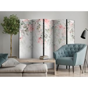 Paravento Waterfall of Roses - First Variant II [Room Dividers]