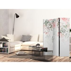 Paravento design Waterfall of Roses - First Variant [Room Dividers]