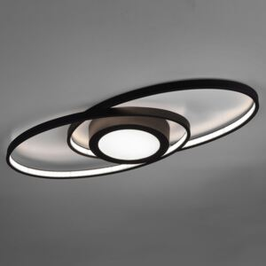Plafoniera LED Galaxy, dimming, antracite