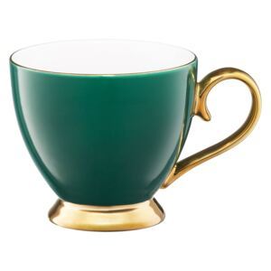 Tazza Royal green&gold 40 cl AMBITION