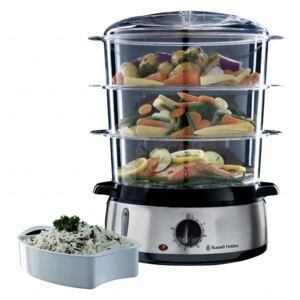 Russell Hobbs Pentola a Vapore Cook@Home 9 L Argento