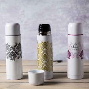 Thermos Glamour 50 cl grigio AMBITION
