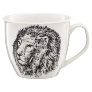 Tazza in porcellana Lion Wild 55 cl AMBITION