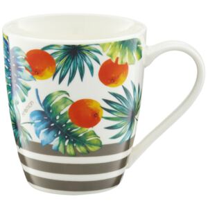 Tazza in porcellana Tropical Arance 37 cl AMBITION
