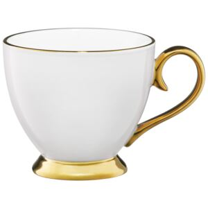 Tazza Royal white&gold 40 cl AMBITION