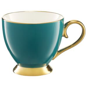 Tazza Royal turquoise&gold 40 cl AMBITION