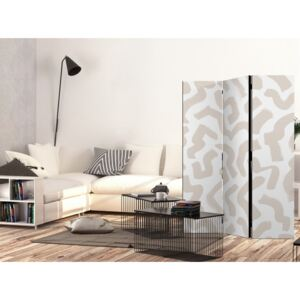 Paravento Beige Pattern [Room Dividers]