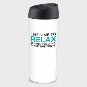 Tazza termica Happy The Time to Relax 40 cl AMBITION