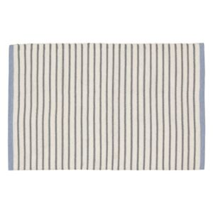 Kave Home - Tappeto in PET Catiana a righe grigie 60 x 90 cm