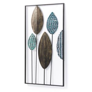Kave Home - Pannello murale Leaves 54 x 104 cm