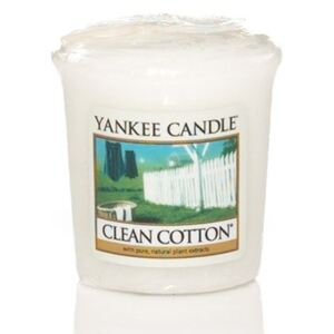 Yankee Candle Fragrant Votive Candle Clean Cotton