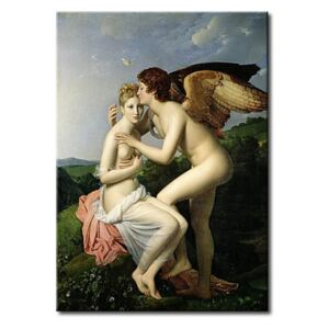 Riproduzione Psyche Receiving the First Kiss of Cupid