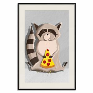 Poster: Gourmand Raccoon [Poster]