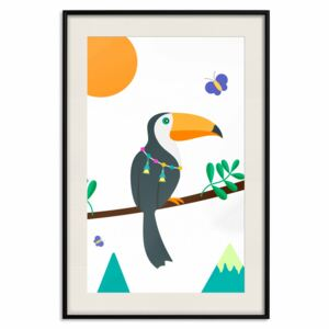 Poster: Toucan And Butterflies [Poster]
