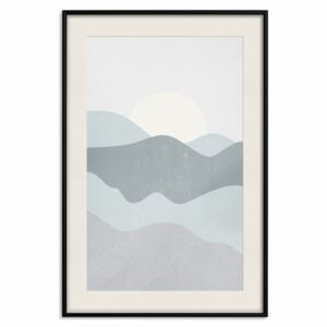 Poster: Sun Over Mountains [Poster]